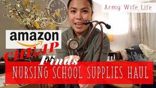 AMAZON NURSING SUPPLIES HAUL [Doug&Marie'sLife S3E41] Army Wife Vlog