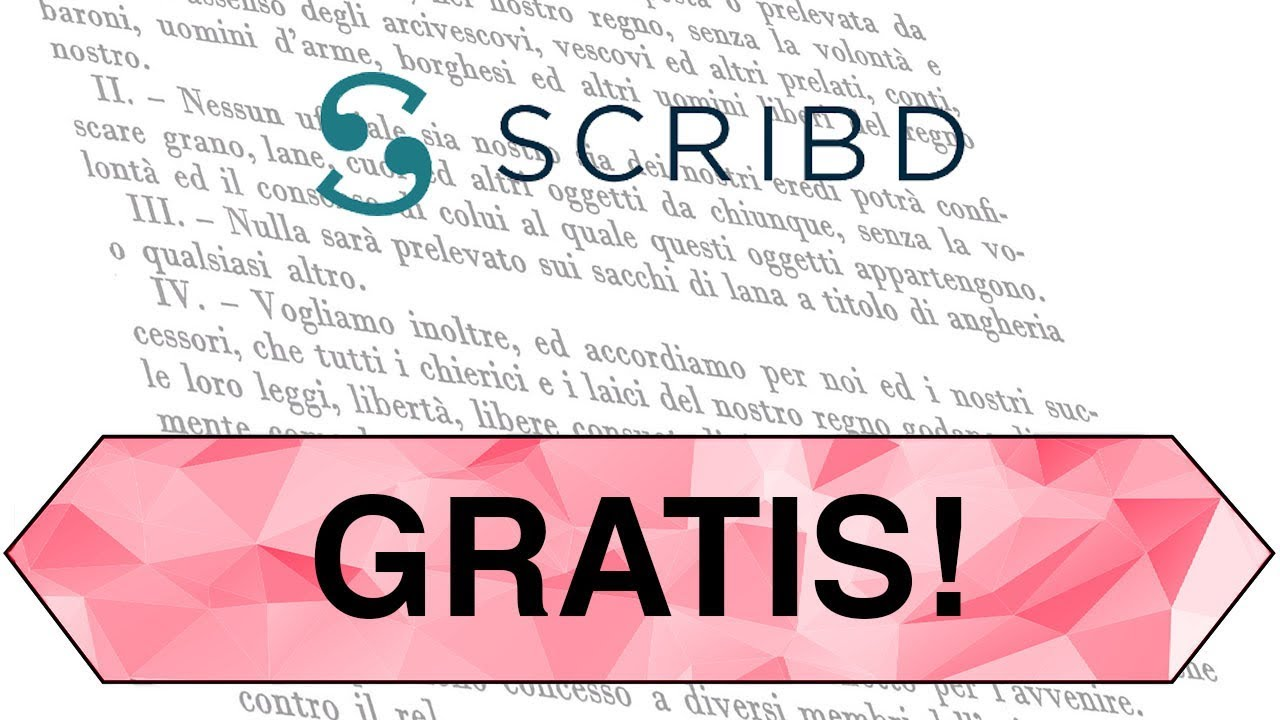 documenti da scribd