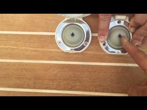 Lewmar Deck Switches -Old VS New-
