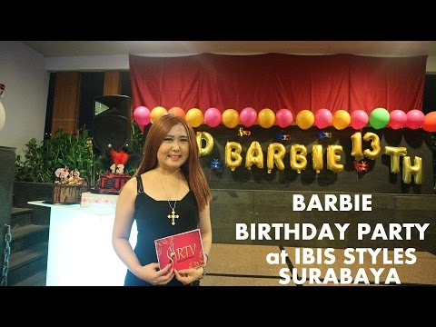 On STAGE at BARBIE BIRTHDAY PARTY IBIS STYLES SURABAYA