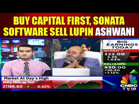 Buy Capital First, Sonata Software; Sell Lupin: Ashwani Gujral | CHART BUSTERS | CNBC TV18