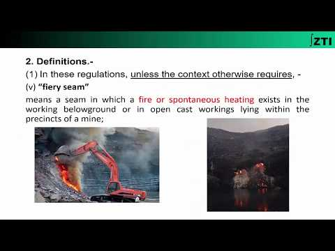 Coal Mines Regulations 2017- Chapter-1 (Definitions)-Part-(2/4)