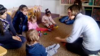 Раннее развитие Севастополь. Детский центр Топтыжка. Состав числа 3, выкладывание пирамидки, дорожки