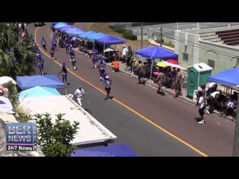 Ex-Artillery Majorettes In The Bermuda Day Parade, May 26 2014