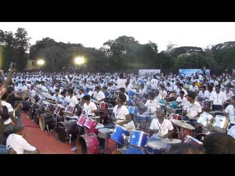 Sivamani World Record |Sivamani 1000 Drummers Chennai
