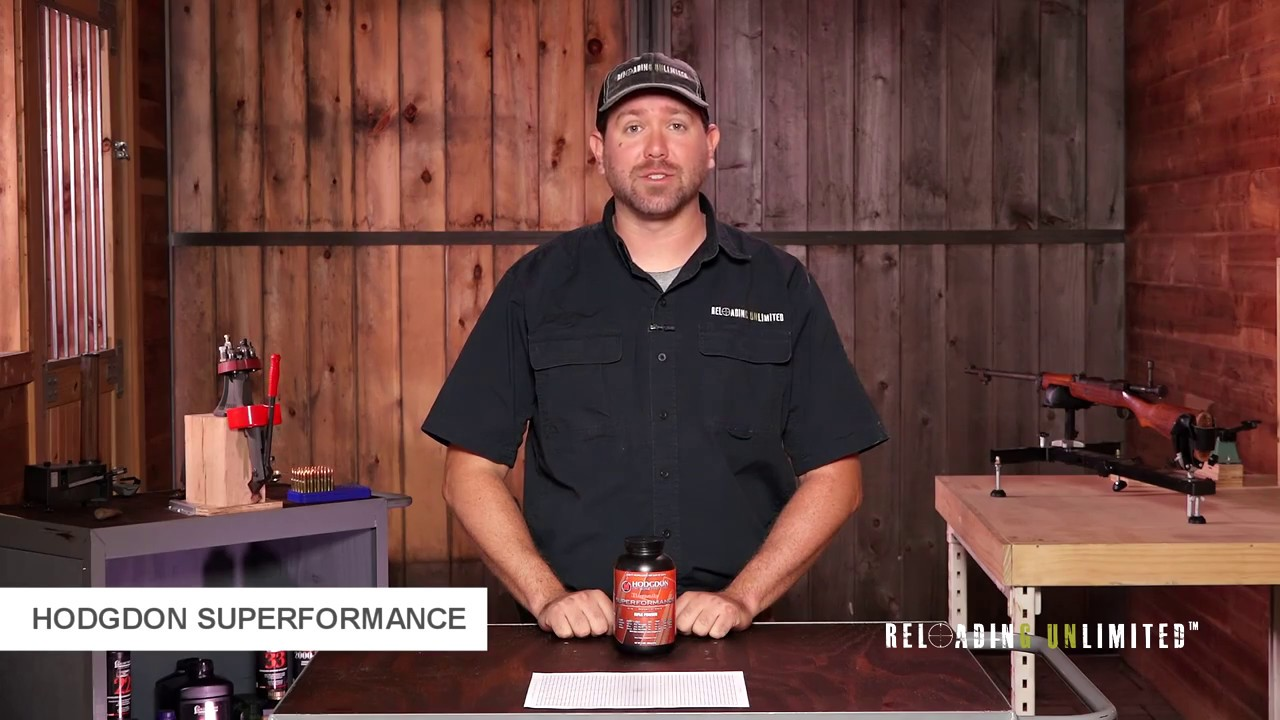 Hodgdon Superformance At Reloading Unlimited