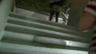G20 Riot Police Trap U of Pittsburgh Students on a Staircase and Tear Gas/Pepper Spray Them