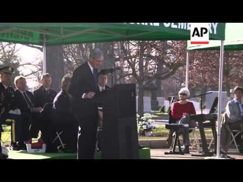 Memorial service marking 25th anniversary of the Lockerbie bombing, Attorney General speaks