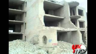 Заброшенные здания в Рубежном