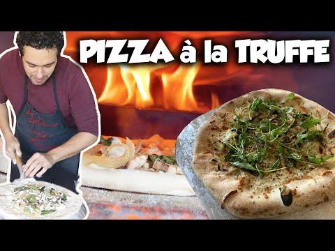 une-pizza-à-la-truffe-avec-le-four-à-bois-ooni-!!