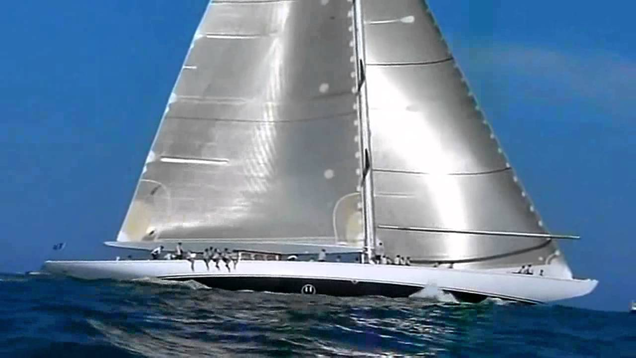Northrop And Johnson >> J Class Yachts Velsheda and Ranger - YouTube