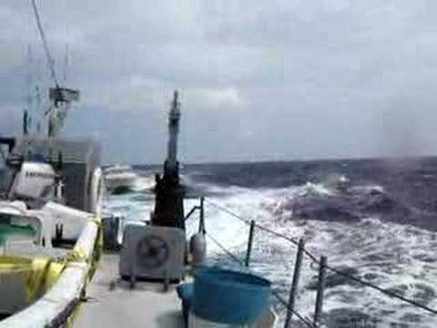 windward passage cuba Haiti towing storm seas