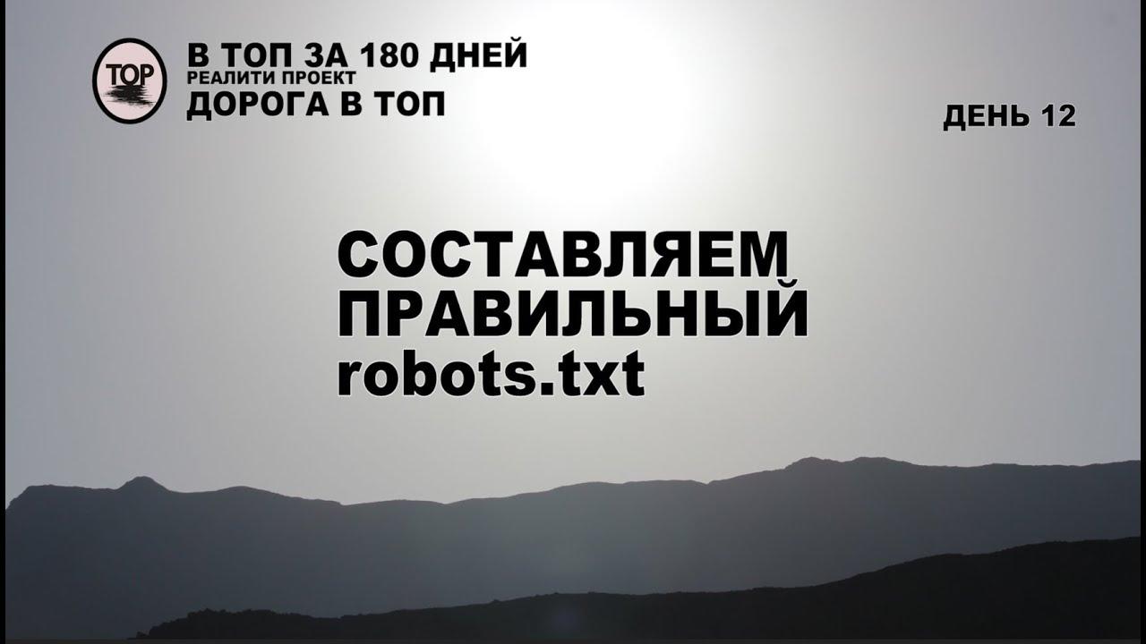 Download Создаем правильный robots txt