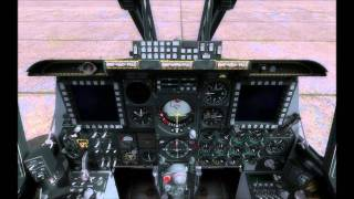 DCS A-10C Warthog Ground Crew Interaction via Intercom Panel Tutorial
