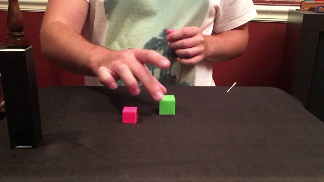 Confined Cubes Tenyo T 205 Youtube