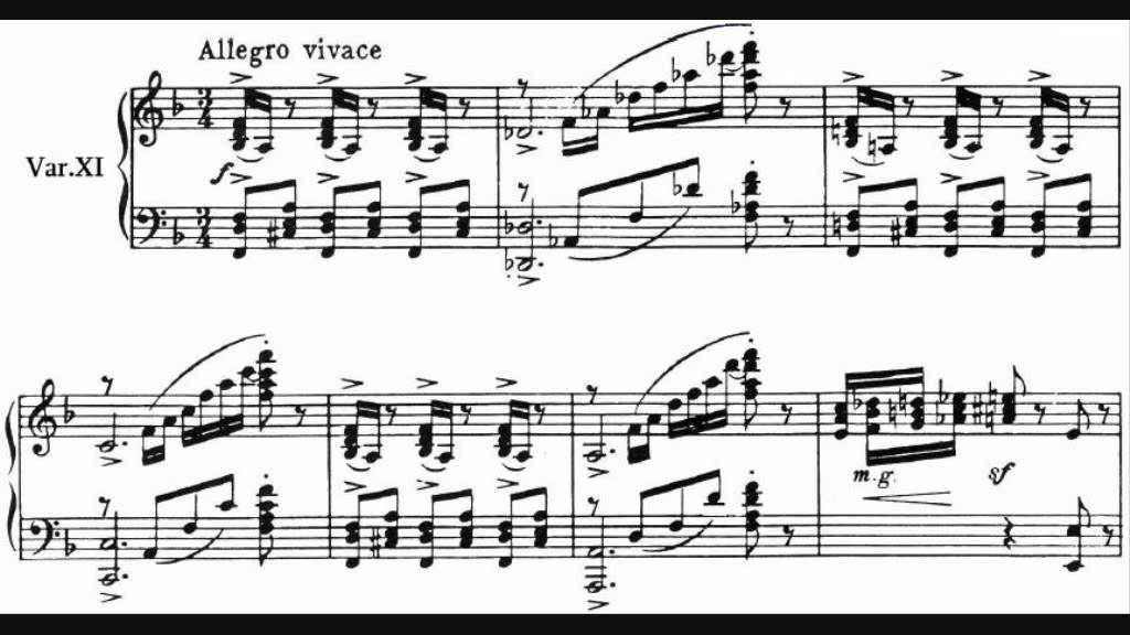 All Music Chords rachmaninoff sheet music : Sergei Rachmaninov - Variations on a Theme of Corelli - YouTube