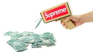 How to Make Amazing Money Gun Supreme from Cardboard