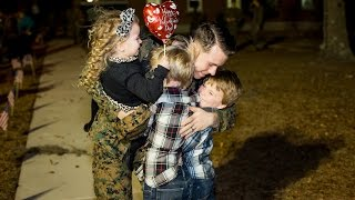 Military Homecoming | Navy Homecoming | Alicia Q. Photography