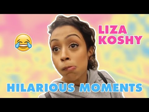 LIZA KOSHY BEST MOMENTS **HILARIOUS**