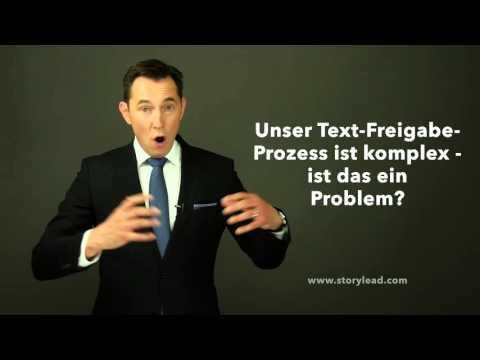 63. Unser Text-Freigabe-Prozess ist komplex - ist das ein Problem?
