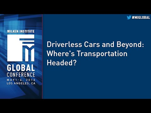 Driverless Cars and Beyond: Where's Transportation Headed?