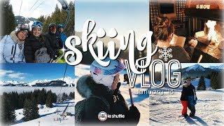 SKIING VLOG | LES GETS, FRANCE 2018 🇫🇷 ❄️ | Brogan Tate AD