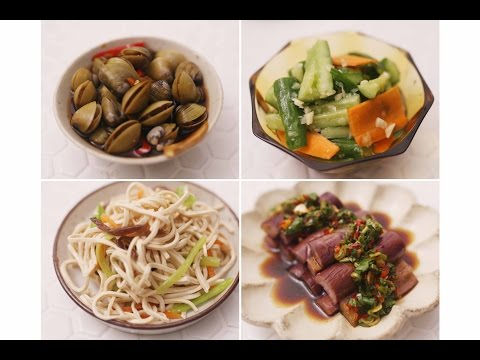 【COOKY】超開胃台式小菜 4 Taiwanese Side Dishes