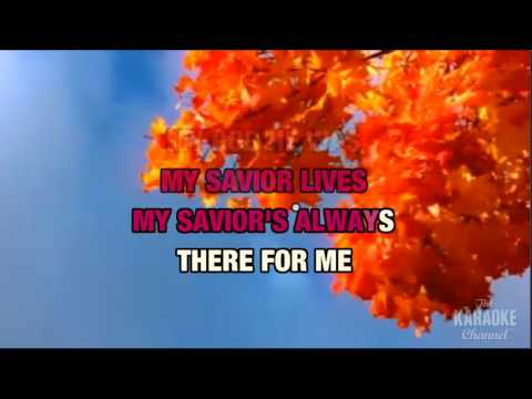 AARON SHUST - MY SAVIOR MY GOD - KARAOKE