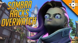 Overwatch Funny & Epic Moments 134 - SOMBRA HACKS OVERWATCH - Highlights Montage