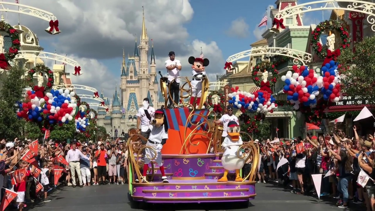 from Chase gay day parade in disney world