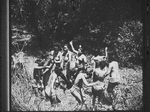 Sarawak, Malaysia, 1913 'wild women' (orang asli)