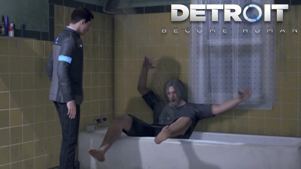 """第9話 """"何遊んでるのですか警部補""""『Detroit Become Human』#9"""