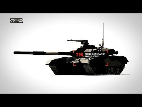 Tank T-90S - test in Peru (Танк Т-90С - тест в Перу)