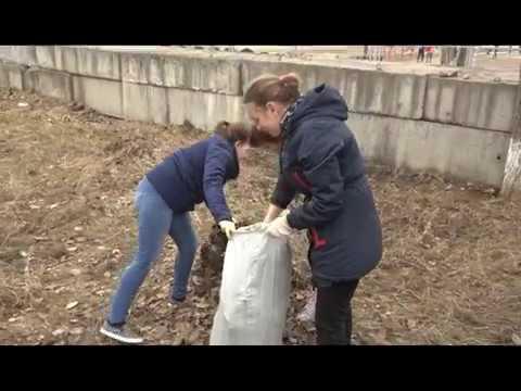 В течение недели в Усть-Куте начали проводить субботники