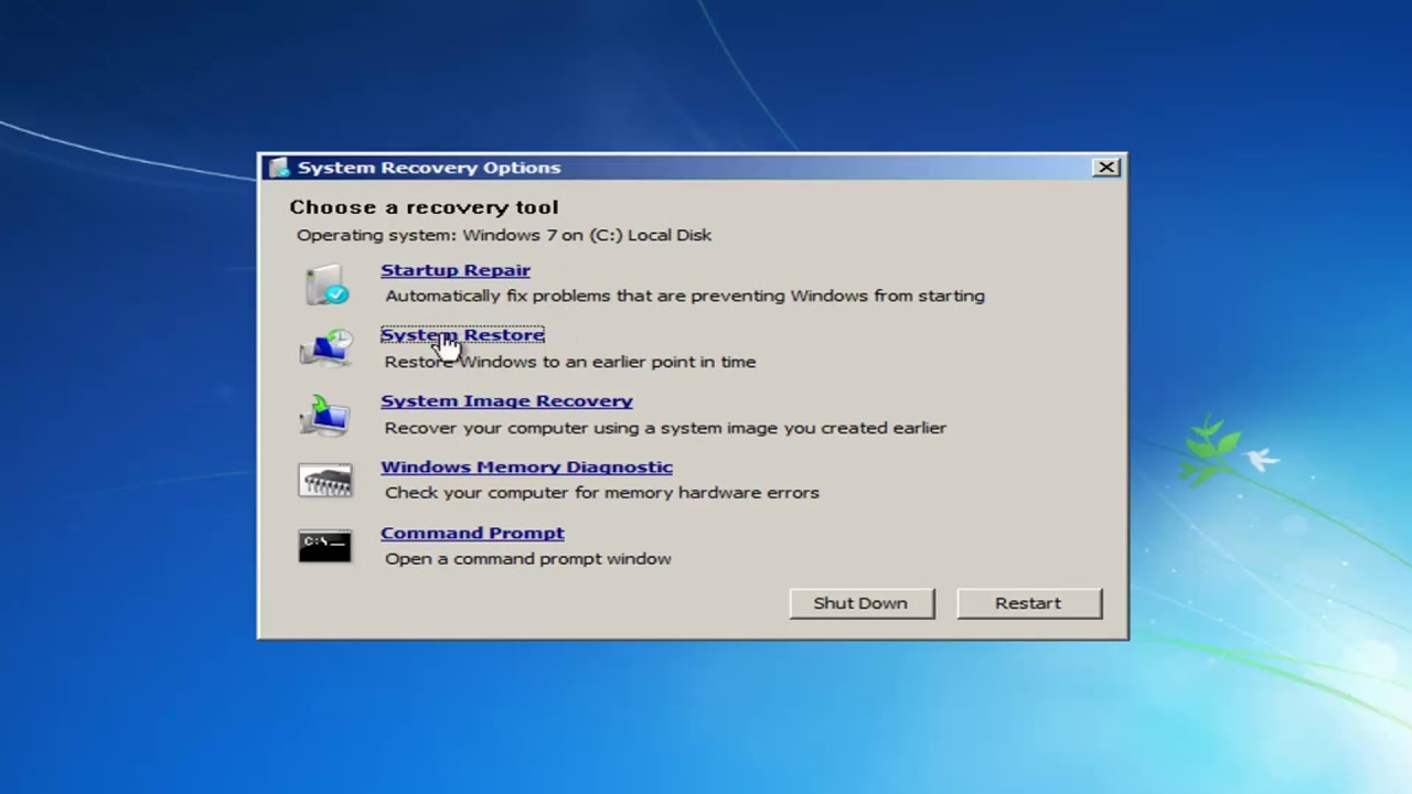 Watch How to Fix a Crashed Computer in Windows video
