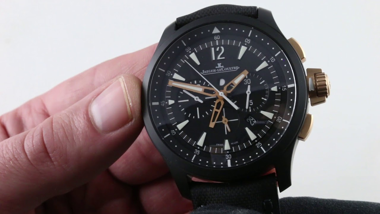 Jaeger-LeCoultre Master Compressor Chronograph Ceramic 205C571 Luxury Watch  Review