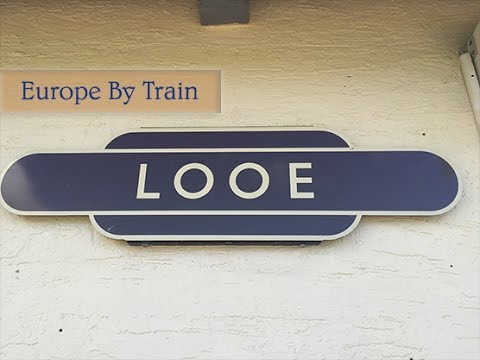 Liskeard to Looe Train; Looe Valley Line, Scenic Uk Train Journeys; Europe by Train