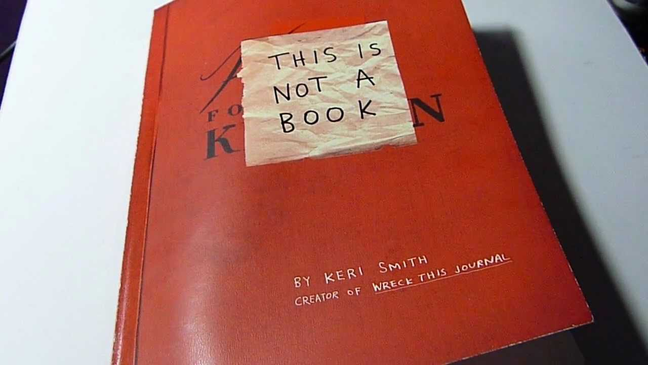 This Is Not A Book Keri Smith Pdf