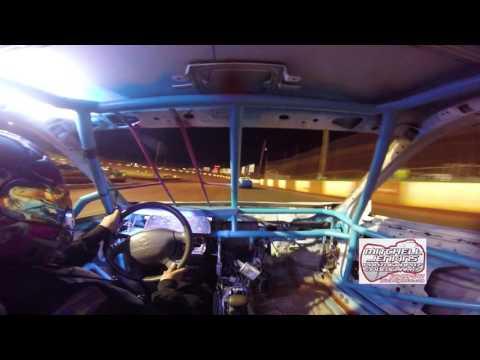 Melissa Dempsey In-Car Dixie Speedway 5/13/17!