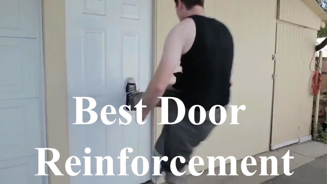 front door frame reinforcement spectacular results youtube