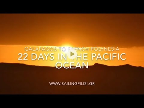 22 Days in the Pacific ocean - Sailing from Galapagos to Fre