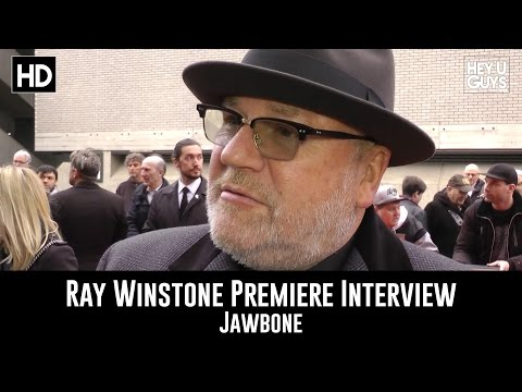 Ray Winstone Premiere Interview - Jawbone