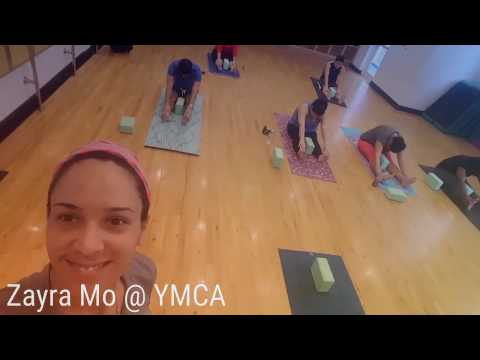 YMCA Yoga Class to relax by Zayra Mo in Miami