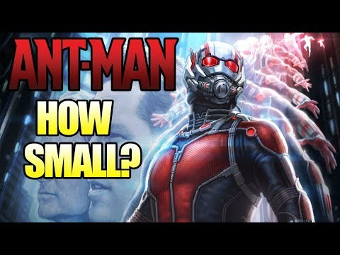How Small Can Ant Man Shrink?
