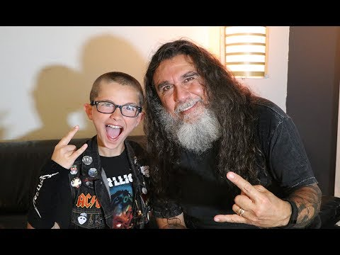 TOM ARAYA of SLAYER on missing Jeff Hanneman, humanity, the end of the world, more