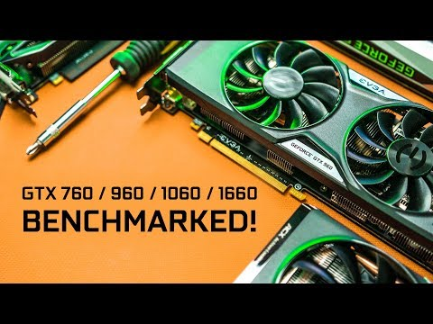 An Epic $250 NVIDIA GPU Battle - GTX 760 to GTX 1660