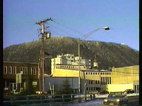 A tour of Sitka, Alaska, Winter, 1989