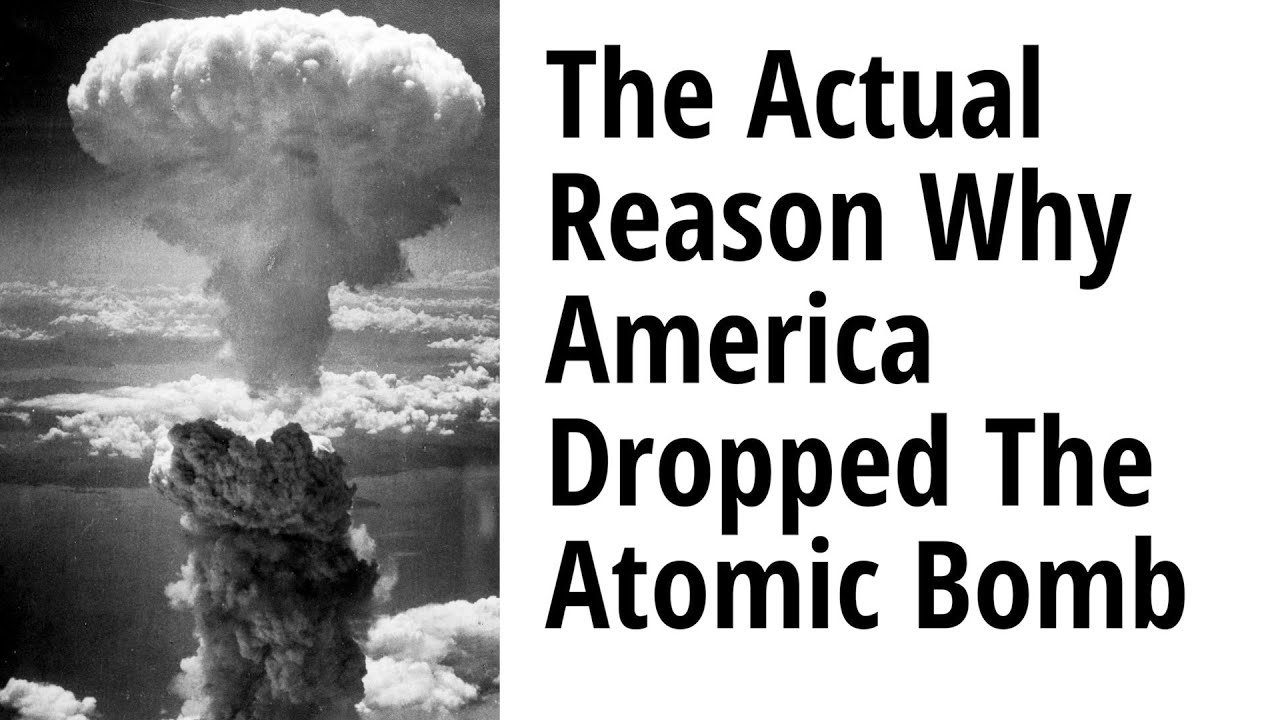 The Actual Reason Why America Dropped 2 Atomic Bombs on Japan - Part 2 with Prof. Kuznick