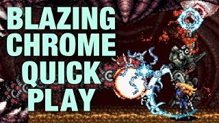 Blazing Chrome Quick Play (GigaBoots)