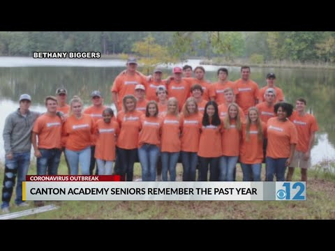 Canton Academy seniors remember the past year